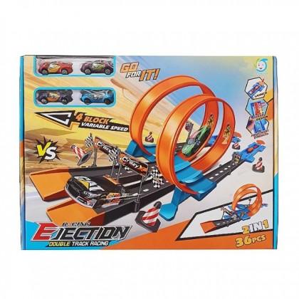 Double Track Racing Set