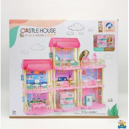 DIY villa House ( 113pcs)